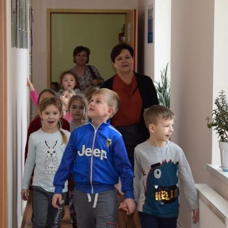 Wyświetl galerię Przedszkolaki z wizytą w Urzędzie Miejskim